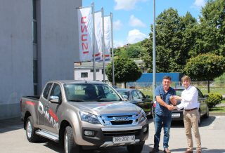 ISUZU Pick-up putuje u Slavoniju !